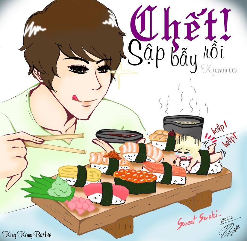 _fanart__kyumin___sweet_sushi_by_miimmiiz-d53tdow